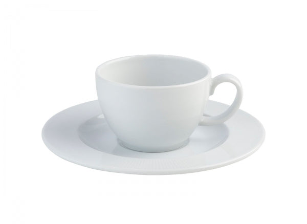 Costa Verde Raio Bowl Shaped Cup and Saucer - Kitchway.com