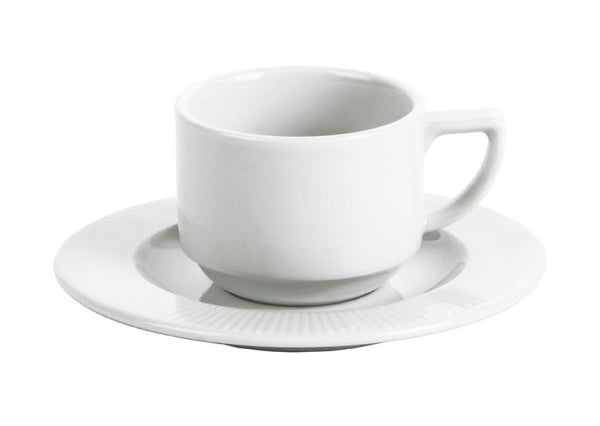 Costa Verde Raio Stacking Espresso Cup-120ml - Kitchway.com