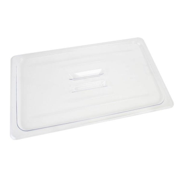 Full Size Polycarbonate Food Pan Lid with Handle - Kitchway.com