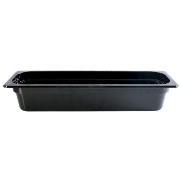 Half Size Long Polycarbonate Food Pan - Kitchway.com