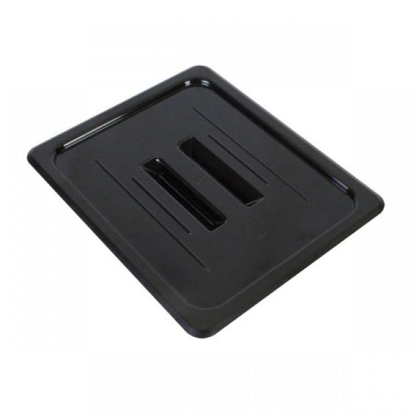 Half Size Polycarbonate Food Pan Lid with Handle - Kitchway.com