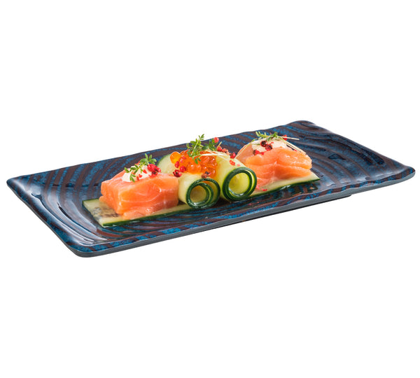 "Loops Melamine Trays 23.5 x 13.5cm / 9 ⅓"" x 5 ⅓"" - Pack of 1"
