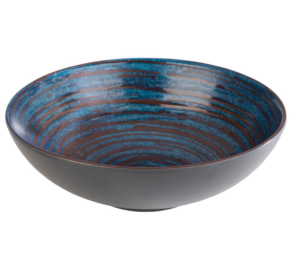 "Loops Melamine Bowls  20.5 x 6.5cm / 8"" x 2 ½"" (0.8Ltr) - Pack of 1"