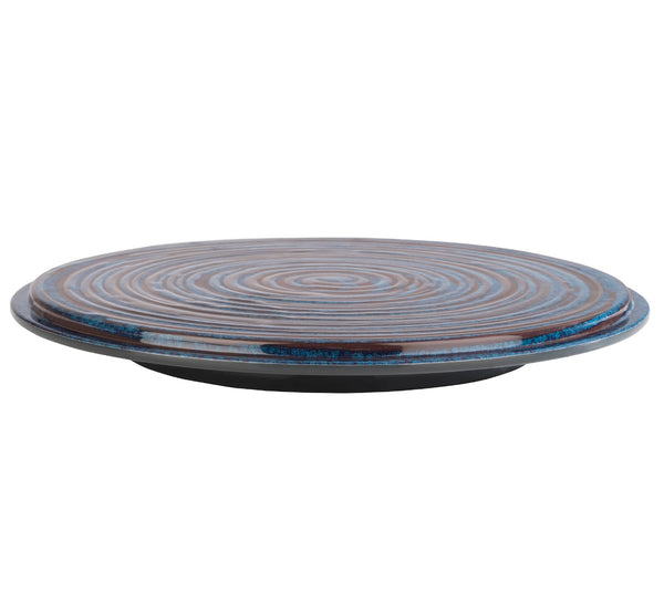 "Loops Melamine Cake Stands 37.5 x 4cm / 14 ¾"" x 1 ½"" - Pack of 1"
