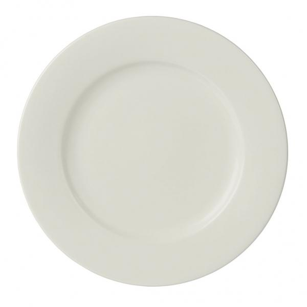 Imperial Fine China 23.5cm Rimmed Plate - Pack of 6