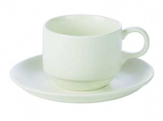 Imperial Stacking Cup with Saucer - Kitchway.com