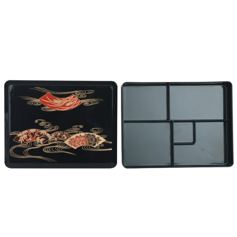 Makunouchi Bento Box With 5 Fixed Compartments