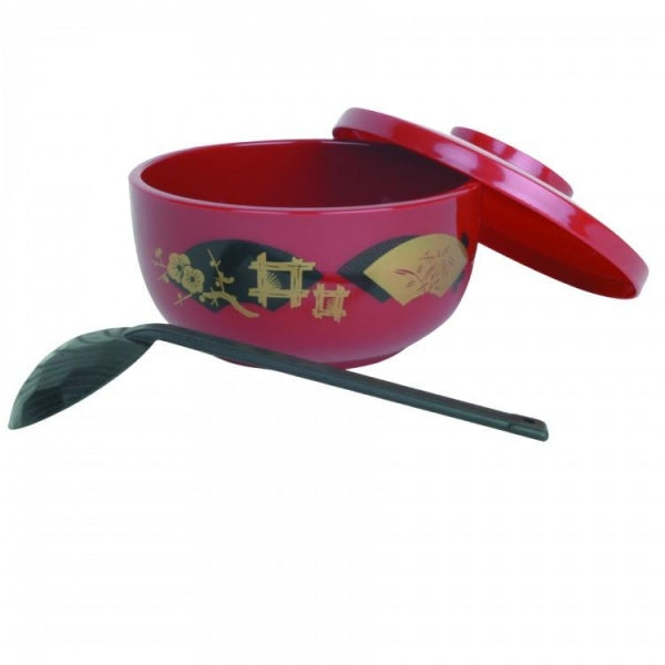 Japanese Noodle Bowl with Ladle - Kitchway.com