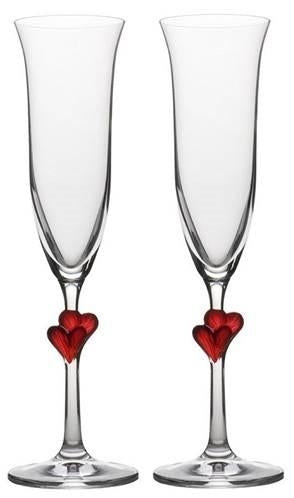 L\'Amour Champagne Flute Glass