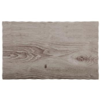 Melamine Wood Tray's - Kitchway.com