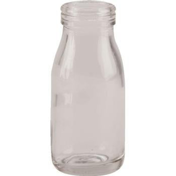 Mini Glass Milk Bottle-100ml - Kitchway.com