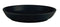 Nordika Black Deep Plate 24cm - Pack of 6