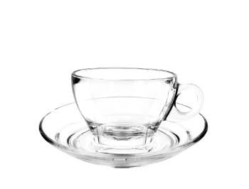 Ocean Caffe Latte Cup and Saucer - Kitchway.com
