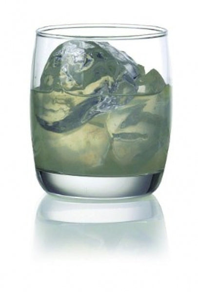 Ocean Ivory Rock Tumbler Glass - Kitchway.com