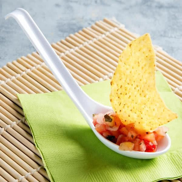 Classic Melamine Soup Spoon-12/Pack - Kitchway.com