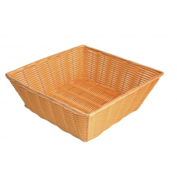 Plastic Square Woven Basket - Kitchway.com