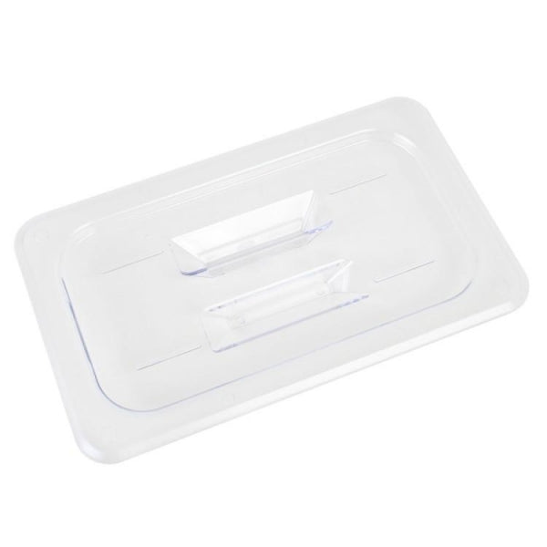 Polycarbonate Food Pan Lid with Handle - Kitchway.com