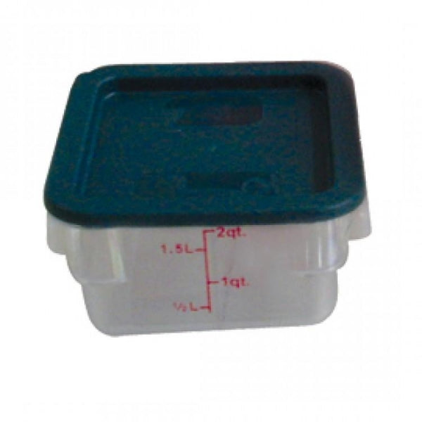 Polycarbonate Food Storage Container with Gradations - Kitchway.com