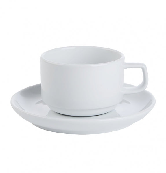 Porcelite Prestige Stacking Cup - Kitchway.com