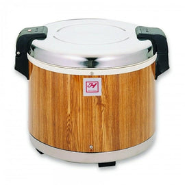 Rice Warmer with Wood Grain Finish - Kitchway.com