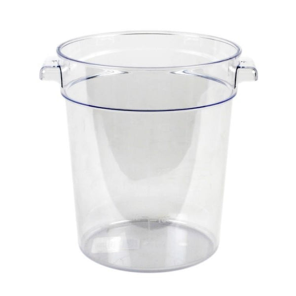 Round Polycarbonate Food Storage Container - Kitchway.com