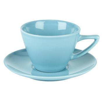 Simply Blue Conic Cup and Saucer