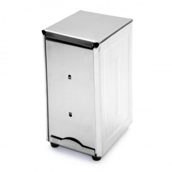 Stainless Steel Napkin Dispenser Tall - Kitchway.com