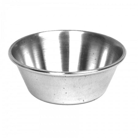Stainless Steel Round Sauce Cup - Kitchway.com