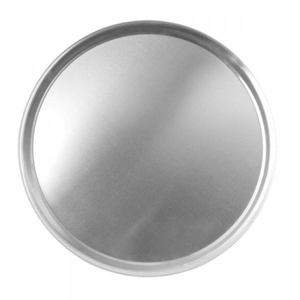 Wide Rim Aluminium Pizza Tray - Kitchway.com