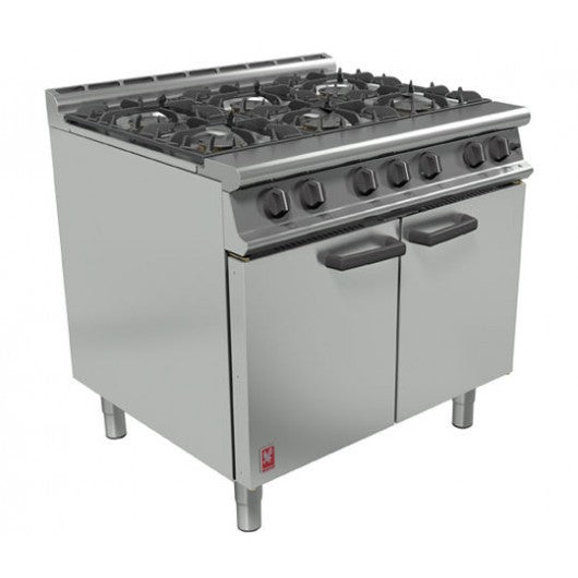 Falcon Dominator Plus G3101 6 Burner Natural Gas Oven Range