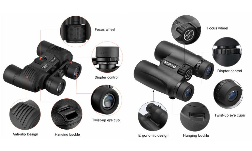 Binoculars Buying Guide Ergonomics