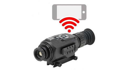 ATN Thor-HD 384 1.25-5x Thermal Scope - 384x288 19mm w/Full HD VideoRec WiFi GPS