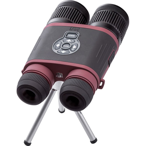 ATN 4.5-18x BinoX THD Thermal Binoculars Wifi 278617 On Tripod