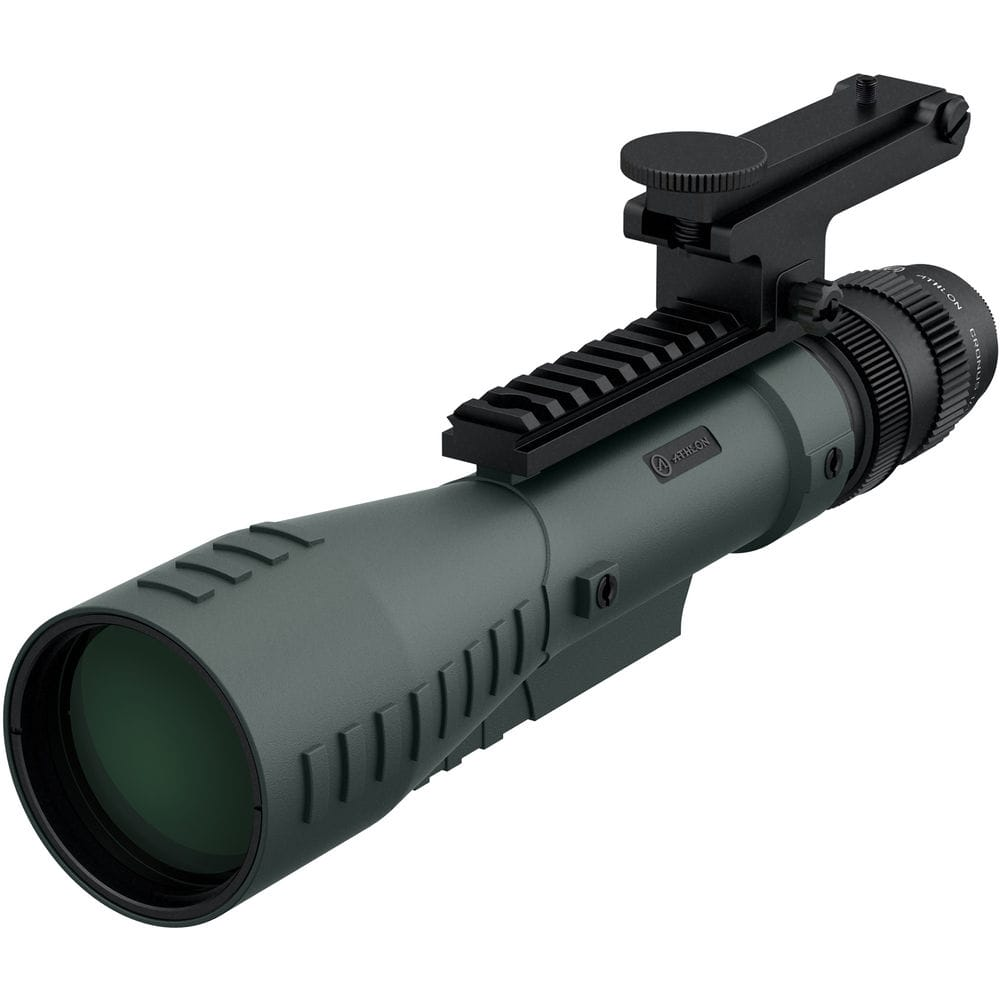 Athlon_Cronus_Tactical_7-42x60_Spotting_Scope_Grey_Front_Left_View_with_Optional_Equipment