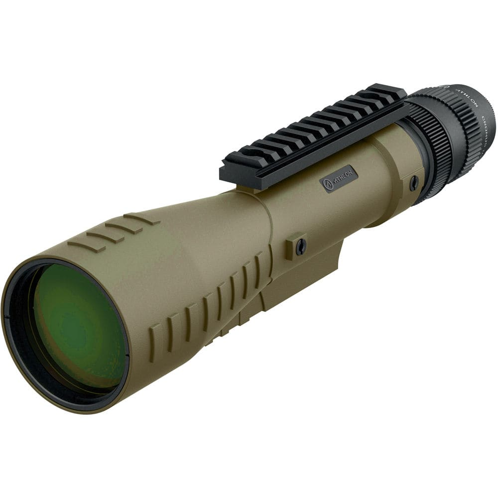 Athlon_Cronus_Tactical_7-42x60_Spotting_Scope_Tan_Front_Left_View_with_Optional_Equipment