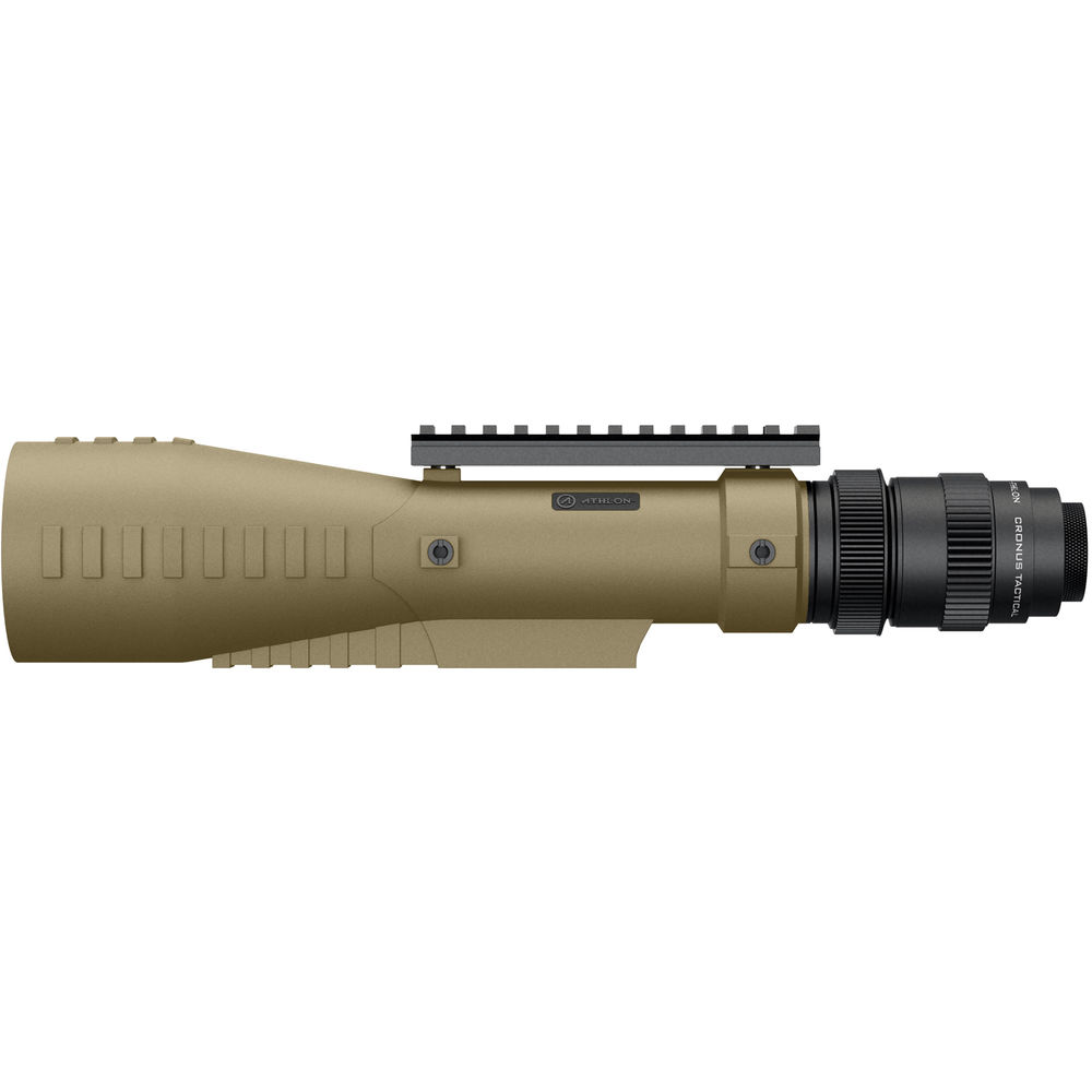 Athlon_Cronus_Tactical_7-42x60_Spotting_Scope_Tan_Side_Left_View_with_optional_Equipment