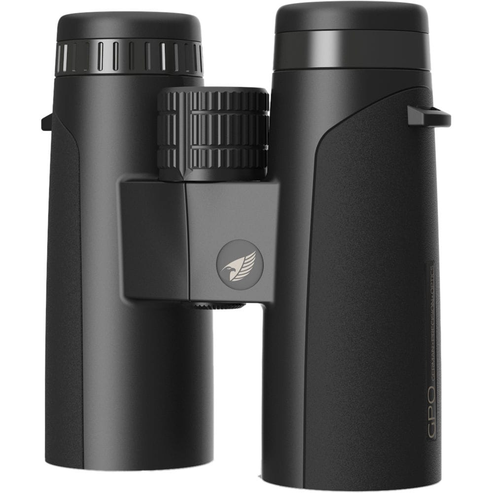 GPO 10X32 Passion ED 32 Binoculars Black Upright View