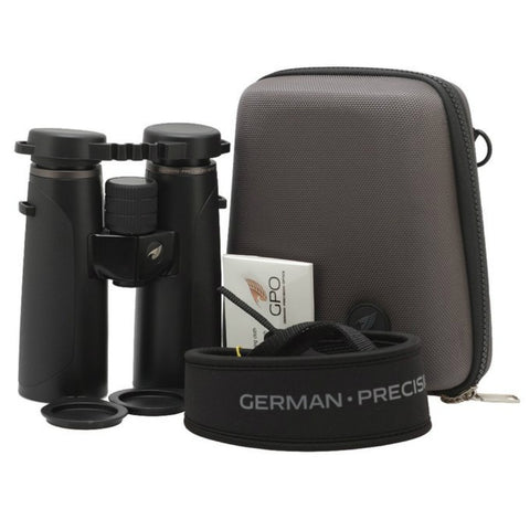 GPO 10X42 PASSION HD 42 BINOCULARS BLACK Package