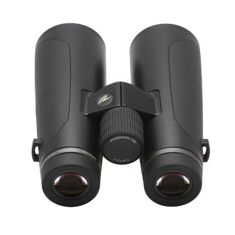 GPO 10X42 PASSION HD 42 BINOCULARS BLACK Rear View