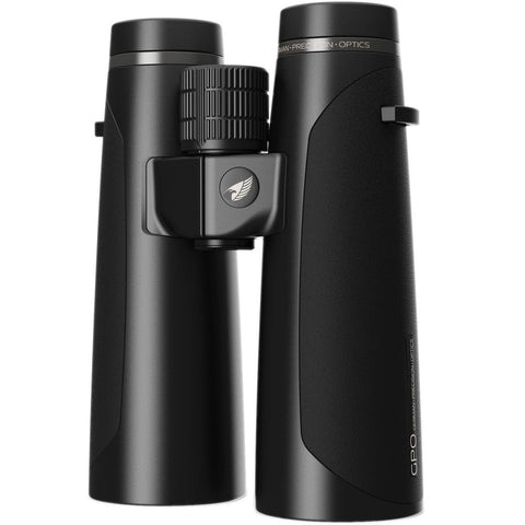 GPO 12.5X50 Passion HD 50 Binoculars Black Upright View At Angle