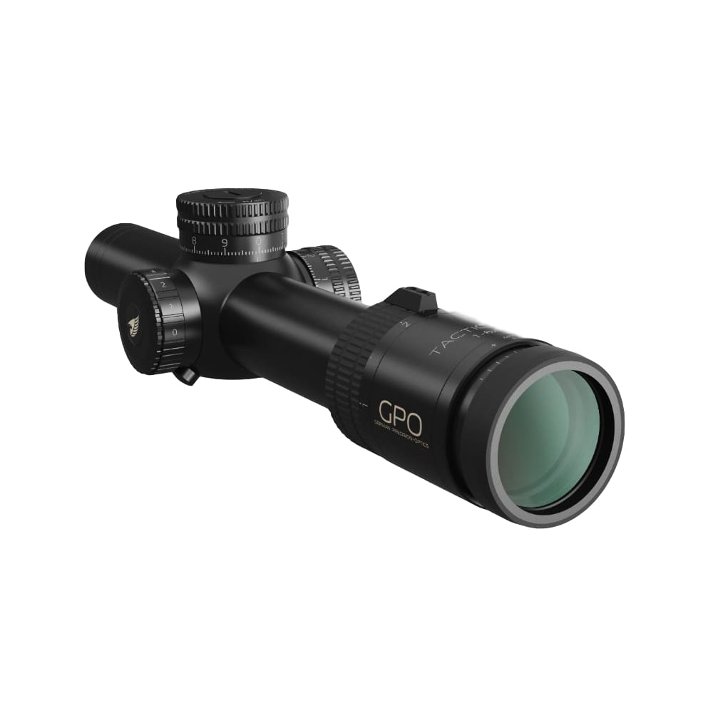 GPO TAC 1-8x24i Riflescope Front Right View