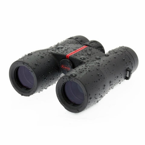 Kowa 10X32 SV Roof Prism Binoculars Front Left View Wet