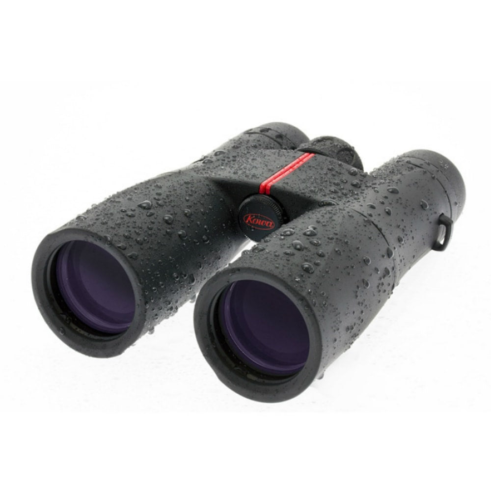Kowa 10X42 SV Roof Prism Binoculars Front Left View Wet