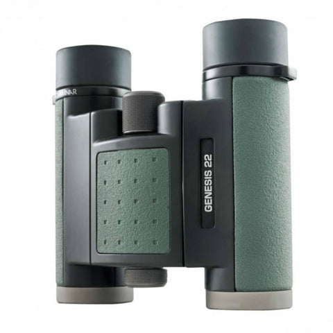 Kowa 10x22 Genesis Prominar XD Binoculars Top View at slight angle