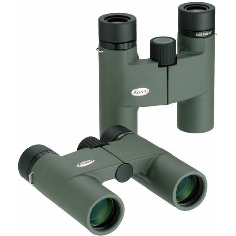 Kowa 10x25 Roof Prism Binoculars BD25-10GR Flat and Upright