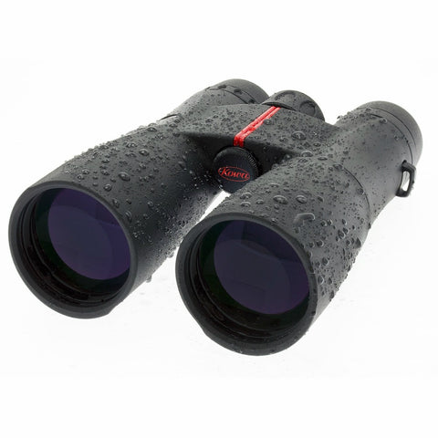 Kowa 12X50 Roof Prism Binoculars SV50-12 Front Left View Wet