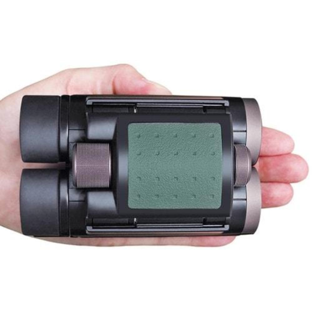 Kowa 8x22 Genesis Prominar XD Binoculars Top View Fits in Palm of Hands