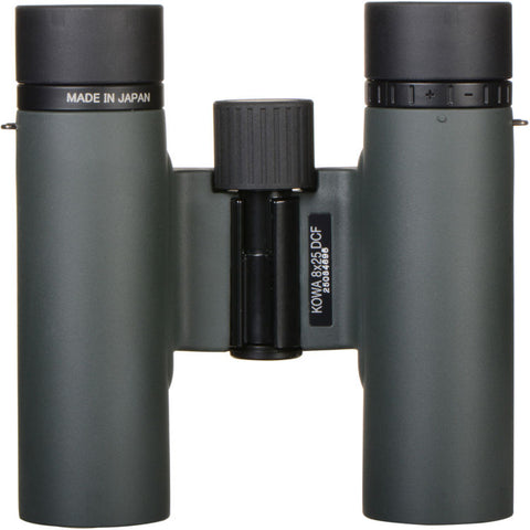 Kowa 8x25 Roof Prism Binoculars BD25-8GR Bottom View