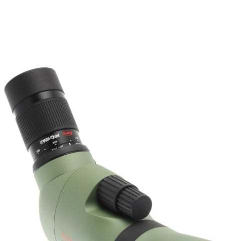 Kowa_TE-11WZ_25-60x_Wide_Zoom_Eyepiece_Side_View_on_Spotting_Scope
