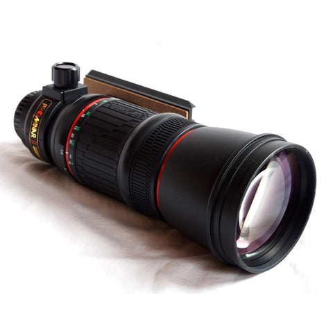 Kowa_TP-556_Telephoto_Scyope_Prominar_500_F5.6_Fluorite_Front_Right_View